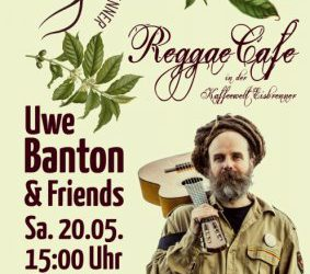 Reggae Café in der Kaffeewelt – am 20.05. um 15:00 Uhr