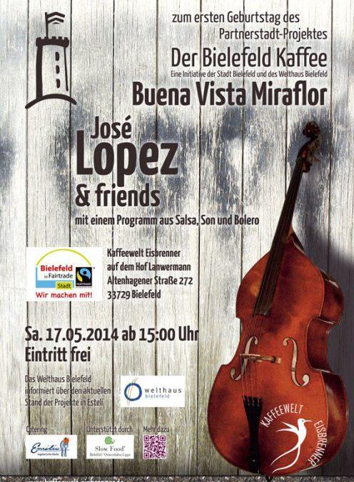 Buena Vista Miraflor – wir feiern ein Jahr Bielefeld Kaffee