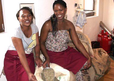Gäste aus Kenia