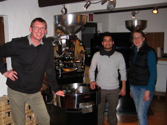 Kaffeemuster aus dem Himalaya eingetroffen