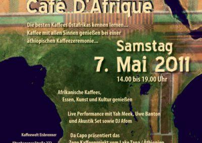 Cafe Dafrique Afrikanische Kaffees und Trommeln