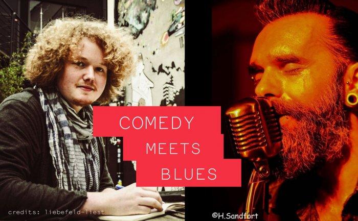 COMEDY meets BLUES – Samstag 04.11.2017 – ausverkauft