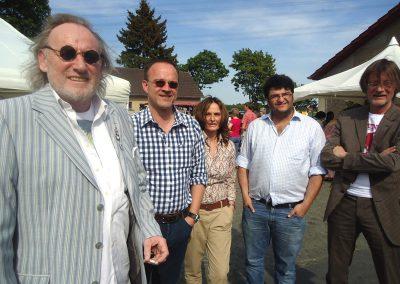 Michael Schulte vom C.ult Chamber Club mit Freunden.
