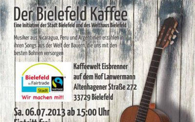 Bielefeld feiert den Partnerstadtkaffee