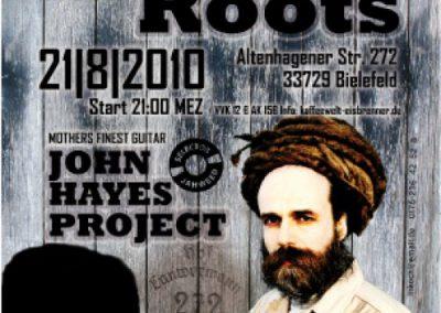 Rock meets Roots war das Motto. Größen aus der Funk-Rock Szene trafen auf einige der besten deutschen Reggaemusiker