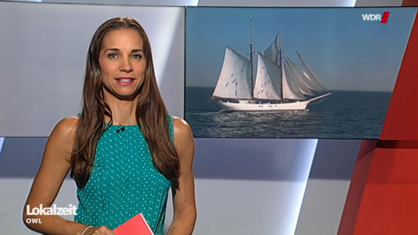 """WDR Beitrag zu """"Cargo under Sail"""""""